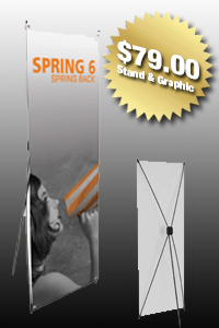 Spring 6 Banner Stand