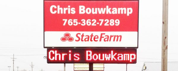 Chris Bouwkamp Electronic Message Board