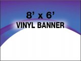 8x6 Full Color Banner