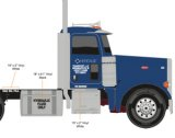 Heritage Peterbilt Day Cab - New Day Cab Package