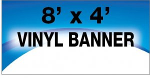8x4 Full Color Banner